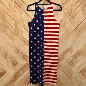 H&M American Flag Dress